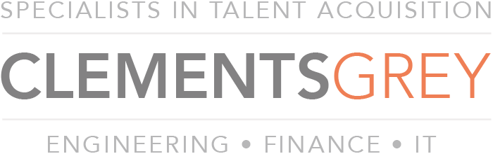 Clements Grey Retina Logo